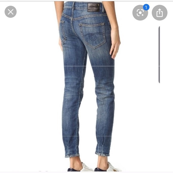 R13 Denim - R13 relaxed skinny jeans size 26